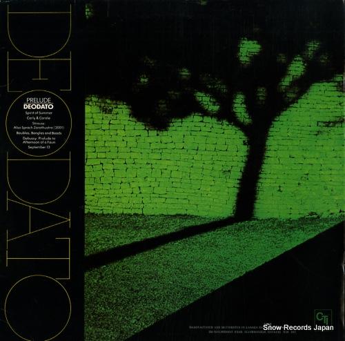 DEODATO prelude CTI6021 - back cover