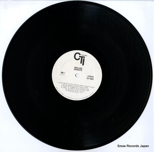 DEODATO prelude CTI6021 - disc