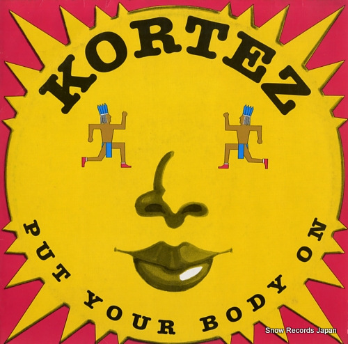 KORTEZ put your body on BCM12493 - front cover