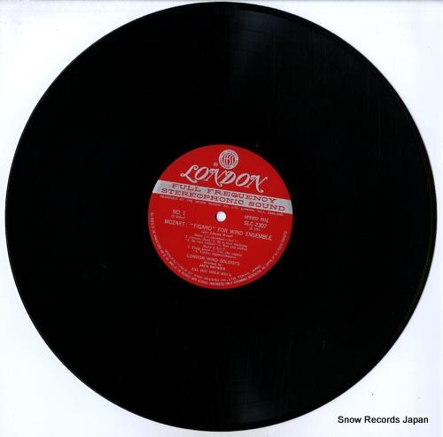 BRYMER, JACK mozart; figaro for wind ensemble SLC2307 - disc