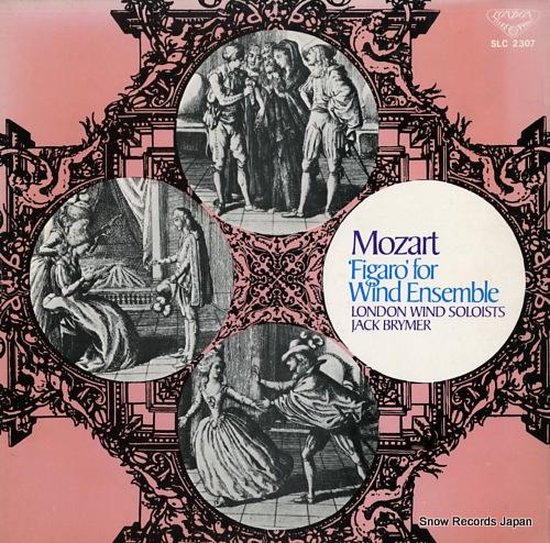 BRYMER, JACK mozart; figaro for wind ensemble SLC2307 - front cover