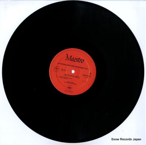 SZELL, GEORGE johannes brahms; symphonie no.1 61922 - disc