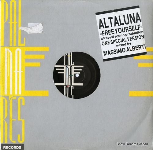 ALTALUNA free your self PL306 - front cover