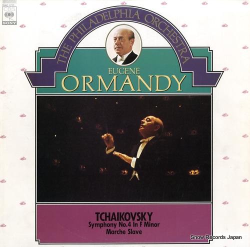 ORMANDY, EUGENE tchaikovsky; symphony no.4 in f minor / marche slave 15AC1717 - front cover