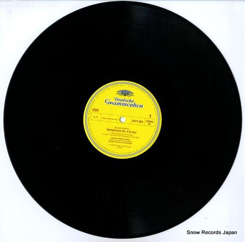 KARAJAN, HERBERT VON mahler; 4.symphonie 2531205 - disc