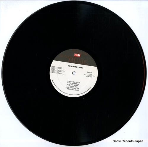 SANCHEZ who is this man VPRL-1538 - disc