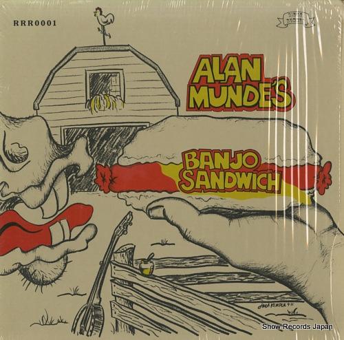 MUNDE, ALAN alan munde's banjo sandwich RRR0001 - front cover