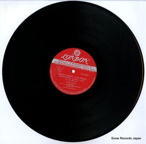 MEHTA, ZUBIN r.strauss; also sprach zarathustra SLA-1007 - disc