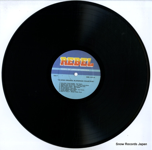 V/A 70 song original bluegrass collection REB-1473-76 - disc