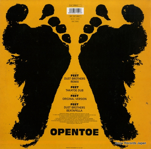 SANDALS feet OTOX2 - back cover