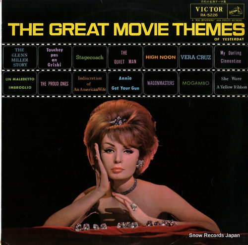V/A the great movie themes of yesterday RA-5226 - front cover