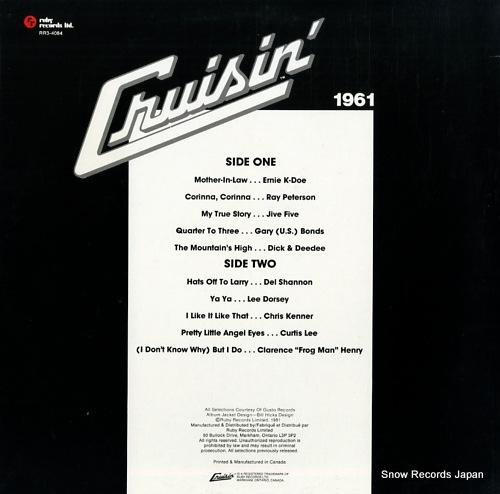 V/A cruisin' 1961 RR3-4084 - back cover