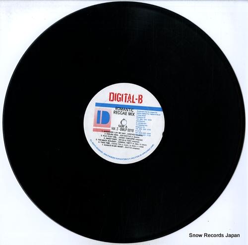 V/A romantic reggae mix volume 2 BWLP0018 - disc