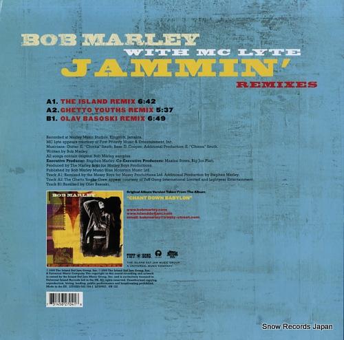 MARLEY, BOB, WITH MC LYTE jammin' remixes 12TGX9 / 5627041 - back cover