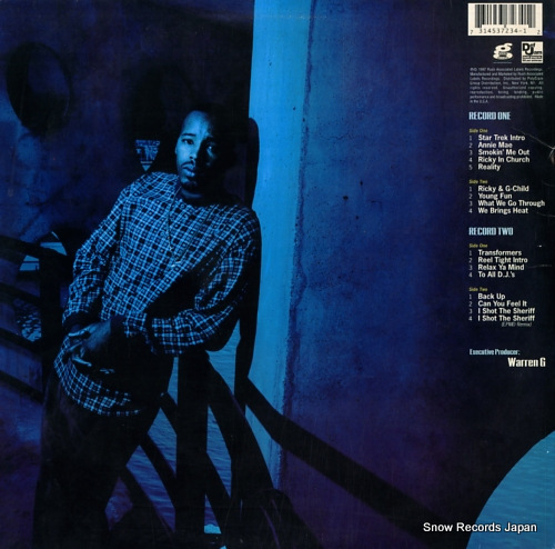 WARREN G take a look over your shoulder (reality) 314537234-1 - back cover