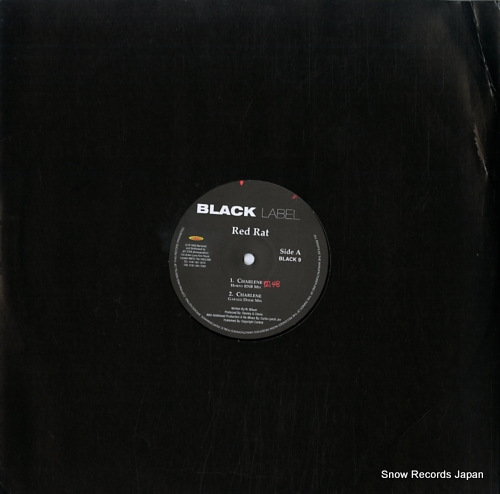 RED RAT charlene BLACK9 - front cover