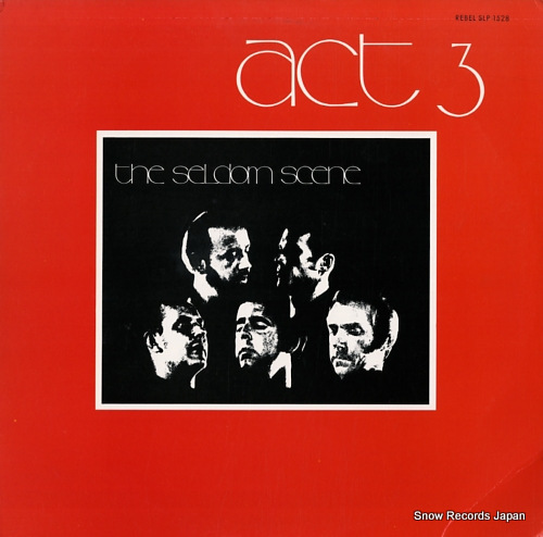 SELDOM SCENE, THE act 3 SLP1528 - front cover