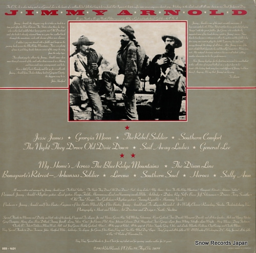 ARNOLD, JIMMY southern soul REB-1621 - back cover