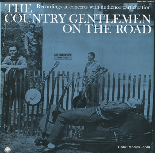 COUNTRY GENTLEMEN, THE the country gentlemen on the road YW-7040-FW - front cover