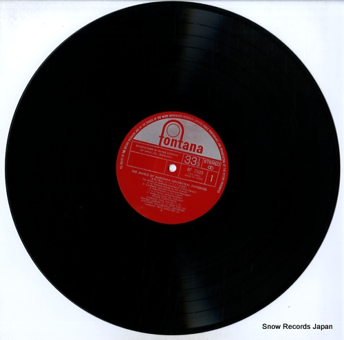 V/A the jewels of madonna / orchestral favorites WF-2009 - disc