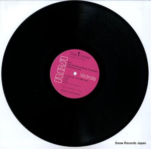 AUREUM, COLLEGIUM bach; the six brandenburg concertos VICS-6023 - disc