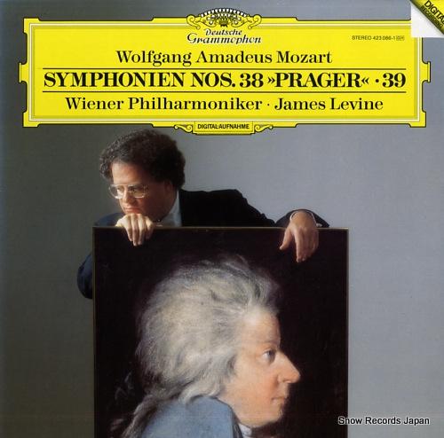 LEVINE, JAMES mozart; symphonien nos.38