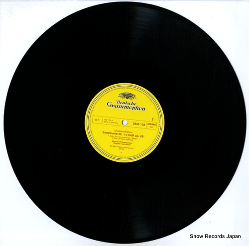 BOHM, KARL brahms; symphonie nr.1 2535102 - disc