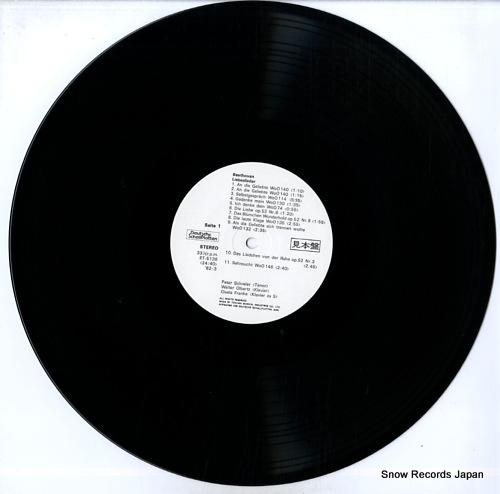SCHREIER, PETER beethoven; lieder 3 ET-5136 - disc