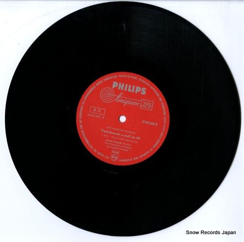 ORMANDY, EUGENE violinkonzert e-moll op.64 G05602R - disc