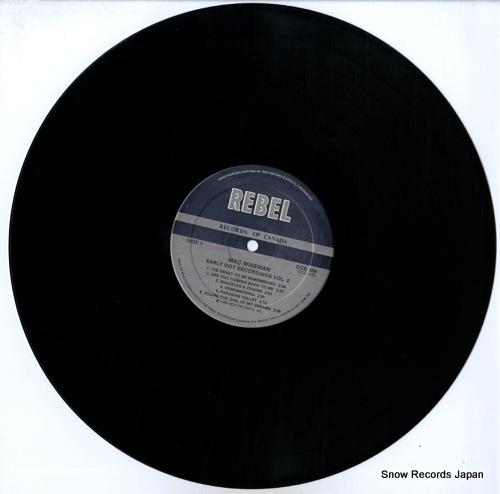 WISEMAN, MAC early dot recordings vol.2 CCS109 - disc