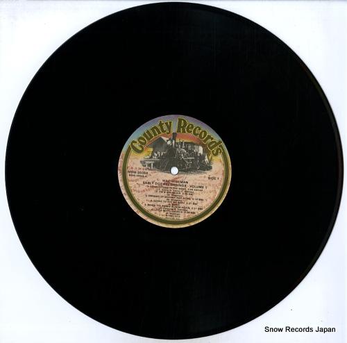 WISEMAN, MAC early dot recordings volume 1 CCS-108/MSM-35058 - disc