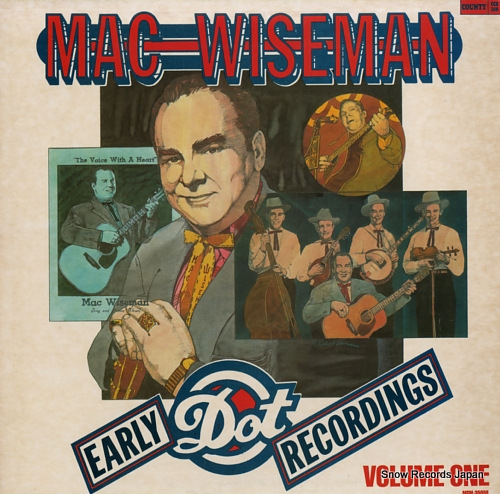 WISEMAN, MAC early dot recordings volume 1 CCS-108/MSM-35058 - front cover
