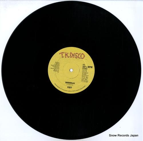 FOXY rrrrrrock TKD-412 - disc