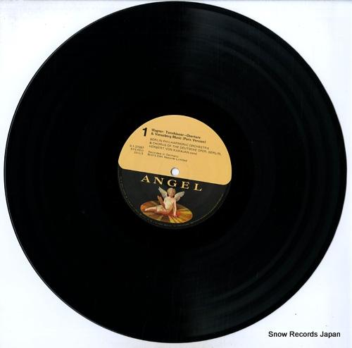 KARAJAN, HERBERT VON wagner; tannhauser overture & venusberg music S-37097 - disc