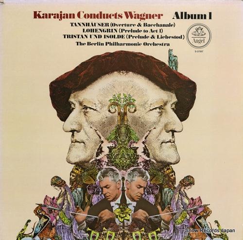 KARAJAN, HERBERT VON wagner; tannhauser overture & venusberg music S-37097 - front cover