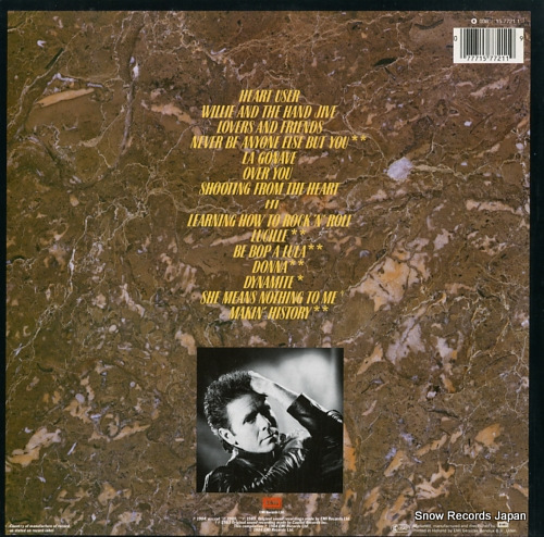 RICHARD, CLIFF the rock connection 1577211 - back cover
