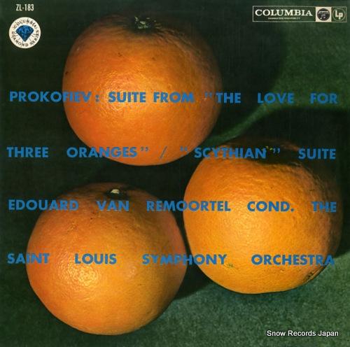 REMOORTEL, EDUARD VAN prokofiev; suite from