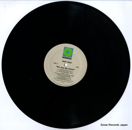RICE, TONY me & my guitar ROUNDER0201 - disc
