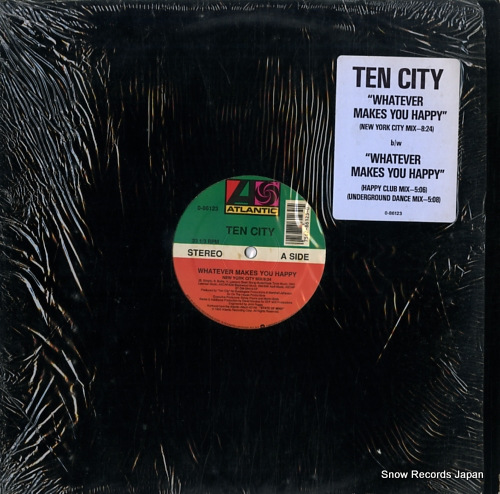 TEN CITY whatever makes you happy 0-86123 - front cover