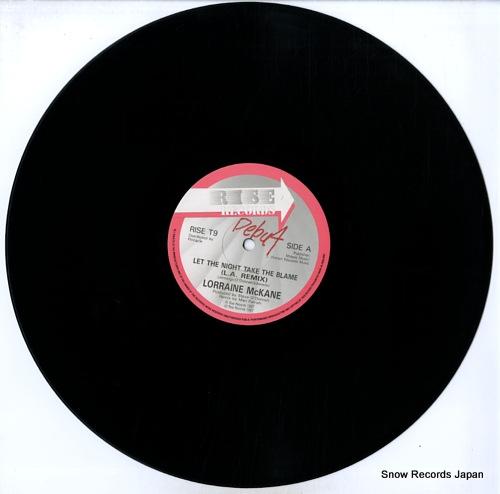 MCKANE, LORRAINE let the night take the blame RISET9 - disc
