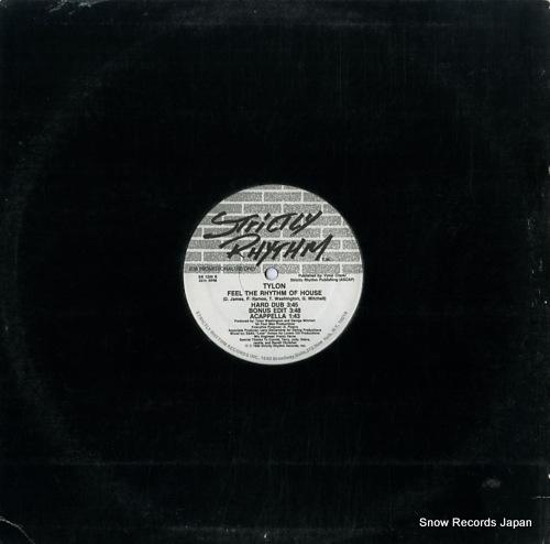 TYLON feel the rhythm of house SR1200 - back cover