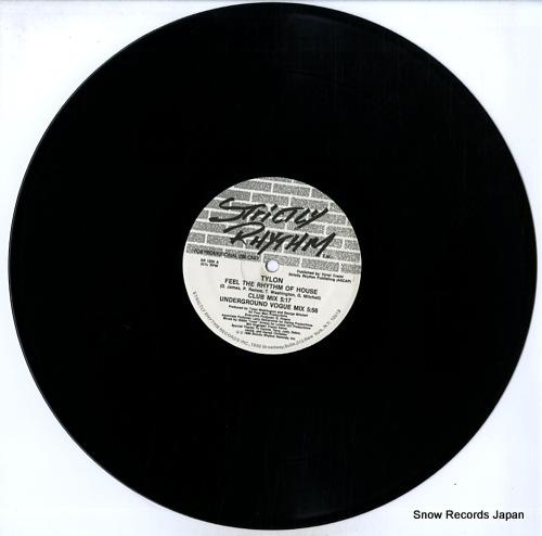 TYLON feel the rhythm of house SR1200 - disc