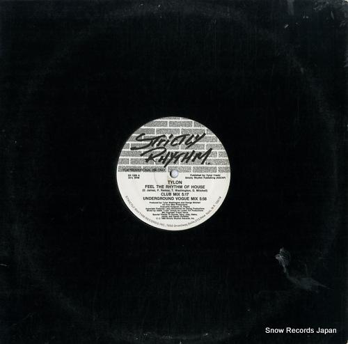 TYLON feel the rhythm of house SR1200 - front cover
