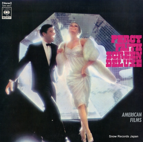 FAITH, PERCY percy faith screen deluxe - american films - SONX60014 - front cover