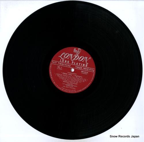 FISTOULARI, ANATOLE tchaikovsky; swan lake highlights MR5018 - disc