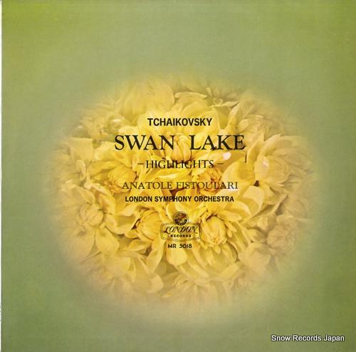 FISTOULARI, ANATOLE tchaikovsky; swan lake highlights MR5018 - front cover