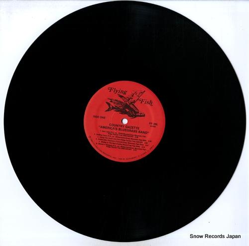COUNTRY GAZETTE america's bluegrass band FF-295 - disc