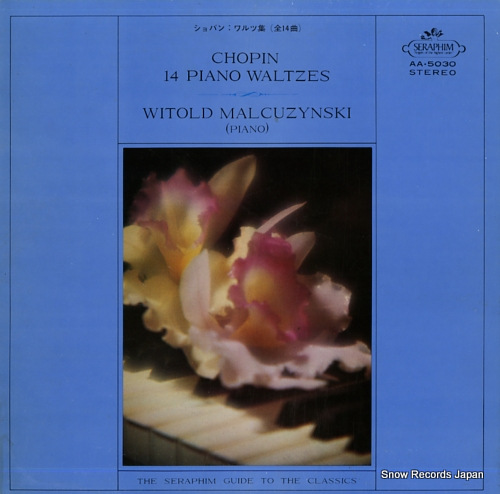 MALCUZYNSKI, WITOLD chopin; 14 piano waltzes AA.5030 - front cover