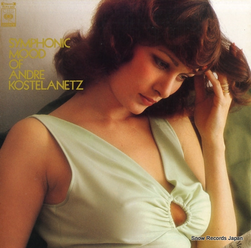 KOSTELANETZ, ANDRE symphonic mood of andre kostelanetz FCPA289 - front cover