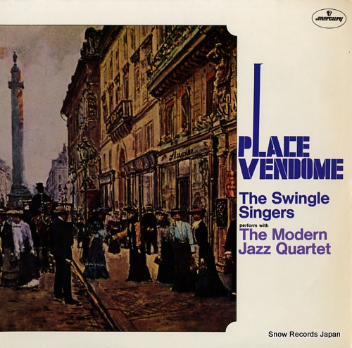 SWINGLE SINGERS, THE place vendome 840257 - front cover